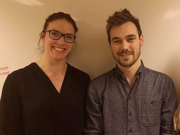 Førstekandidater i fylket og Sandefjord kommune, Maren Njøs Kurdøl og Sondre Wikran Larsen ønsker ordna forhold på Torp