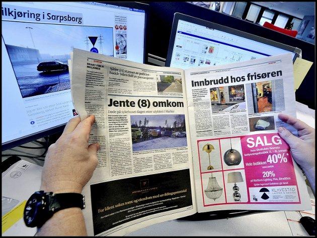 TILBAKE: – Annonsørene er i ferd med å gjenoppdage hvorfor de redaksjonelle   mediene er viktige som reklamebærere, skriver Victoria C. Schultz i denne kronikken. Foto: Jarl M. Andersen