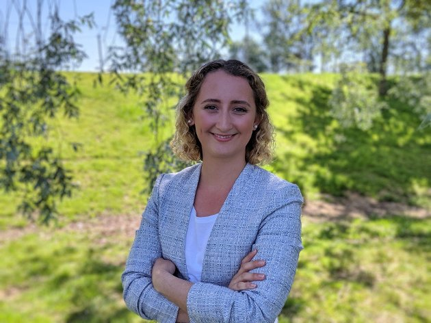 Karoline Lie, nestleder i Studentdemokratiet i Sørøst-Norge