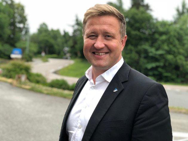Ordfører på Nesodden, Truls Wicholm.
