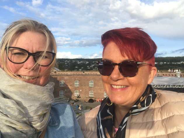Tone Merete Hauk-Hansen og Rita Hirsum Lystad