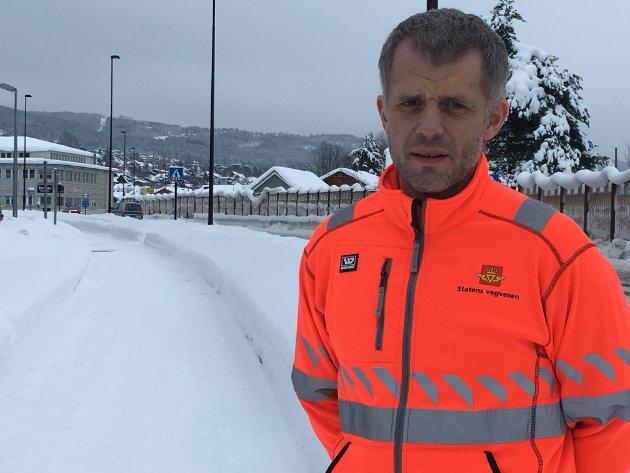 Asbjørn Stensrud Seksjonssjef drift, Statens vegvesen