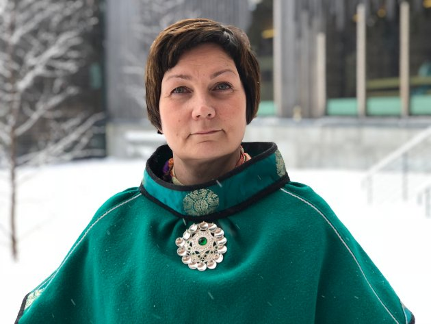 Sametingspresident Aili Keskitalo (NSR).
