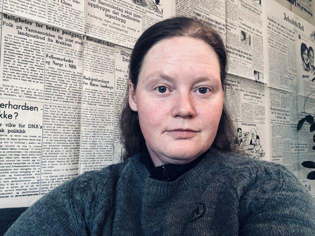 Portrett Guril Bergersen. Journalist i Arbeidets Rett.
