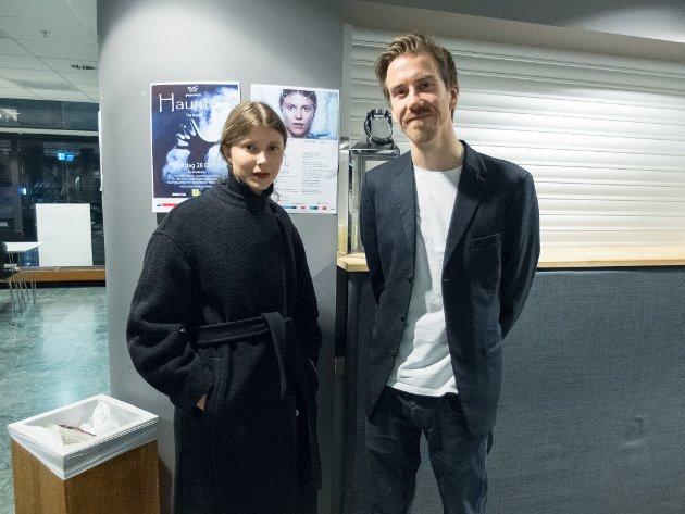"""Hovedrolleinnehaveren i Joachim Triers """"Thelma"""", Eili Harboe, var til stede under """"Fremtidsfilm"""" i Ås kino."""
