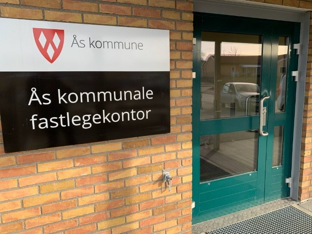 Ås kommunale fastlegekontor på Moer.