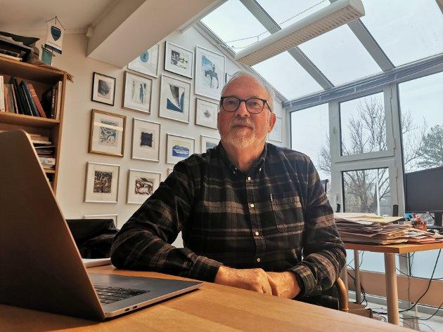 Per Kristian Lunden er spent på hvorvidt reguleringsplanen for Tvedestrand-Dørdal blir ferdig før sommeren.