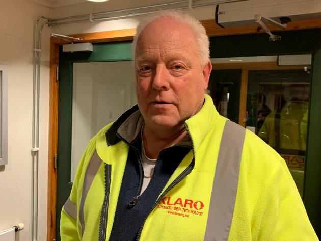 Administrerende direktør Bjørn Stiansen i Klaro vil beholde næringsveien.