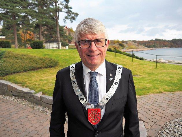 YTRING: Fylkesordfører Arne Thomassen.