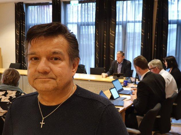 VOLD OG NARKOTIKA: Arne Rygh (Frp) kom med påstander om at mange av Kvinesdals innbyggere er redde.
