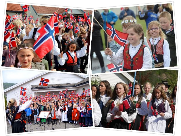 Slik har vi vært vant til å feire Norges nasjonaldag, men pandemien har de to seneste årene forhindret oss for å juble sammen for grunnlovsverket fra Eidsvoll.