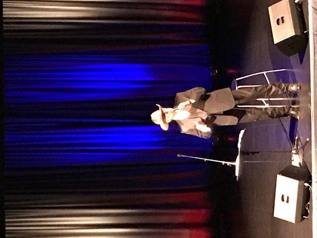 KONSERT: Bjøro Håland hadde konsert i Kvinesdal tidligere i uken.
