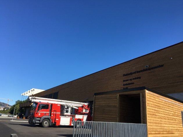 TAS I BRUK: Flekkefjord beredskapssenter er klar til å bli tatt i bruk, og åpnes av statsminister Erna Solberg søndag 29. august.