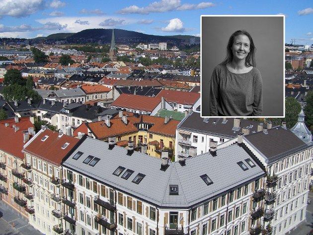 Marthe Feiring (innfelt) skriver om bydelen hun er så glad i.