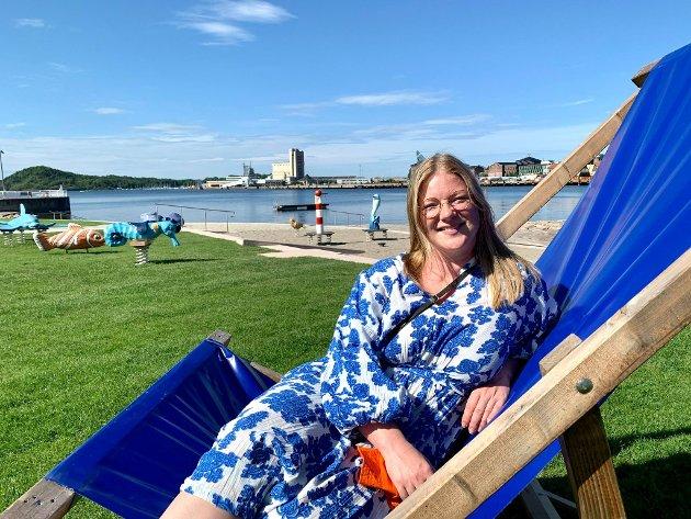 – Jeg gleder meg enormt. Det er dette og åpningen av Munchmuseet i oktober som er det viktigste som skjer i Bjørvika i sommer, sier leder Ida Gravdahl Haldorsen i Bjørvikaforeningen.