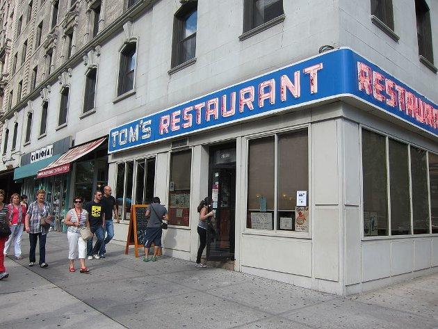 Et lite kontor som ligger over Tom's Restaurant (også kjent fra TV-serien Seinfeld) i New York.