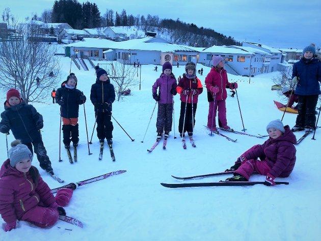 Grønnåsen skole i Bodø sikrer elevene en helsefremmende skolehverdag