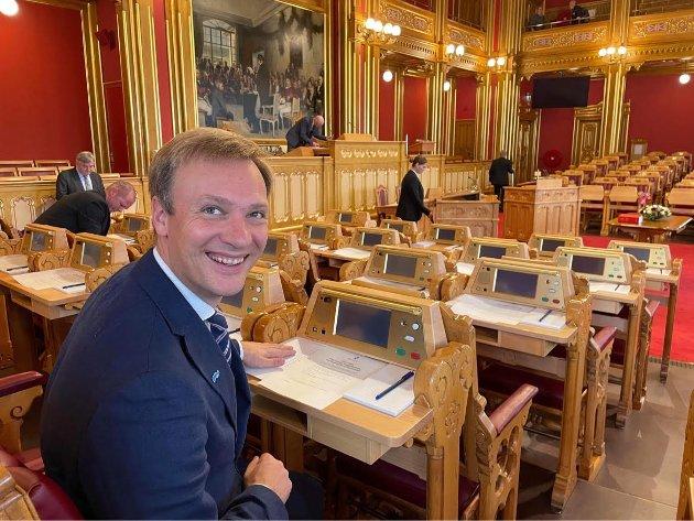 På plass på Stortinget, Bård Ludvig Thorheim, Høyre