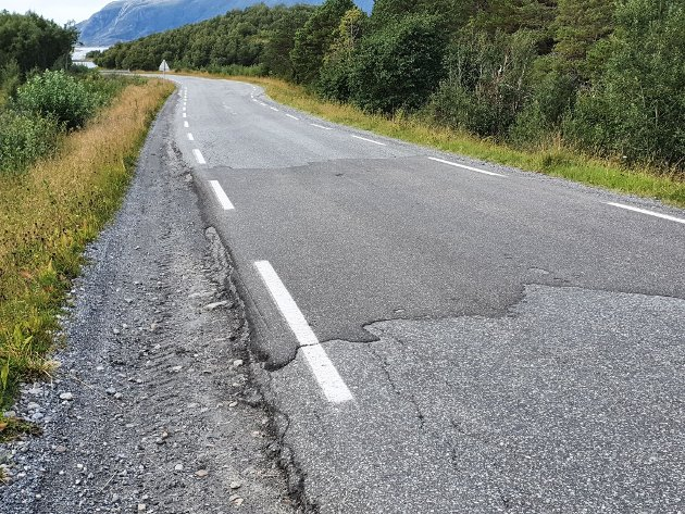 Fylkesvei 464 i Søndre Meløy