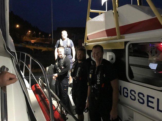 Redningsmenn: Tusen takk til mannskapet på RS Utvær!