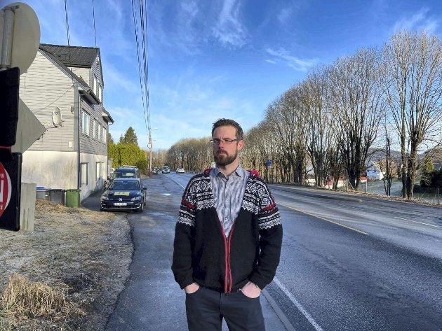 – Merkedagen 19. mars er et jubileum faktisk. Regjeringen har i over 40 år holdt innbyggerne i nordre del av Bergen for narr. FOTO: PRIVAT