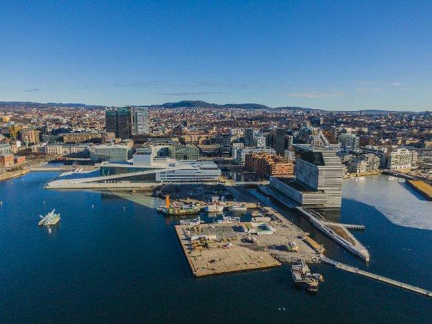 Det er et delt Bergen bystyre som på vegne av hele byen takker Oslo for koronainnsatsen. FOTO: NTB