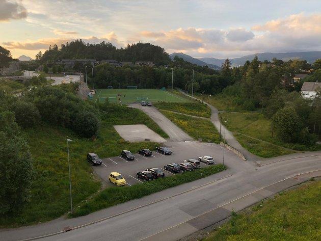 Regine Bjarnoll mener at Petedalsmyra på Sandsli i Ytrebygda bør benyttes for å lage tilbud for barn og unge.