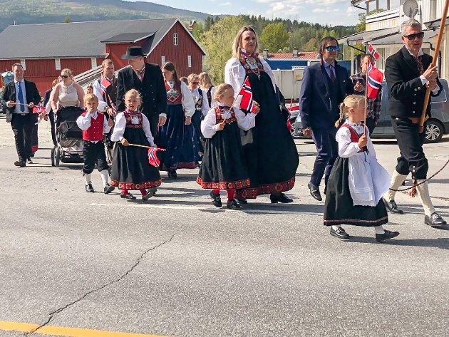 17. mai 2019, Noresund, Olberg kirke