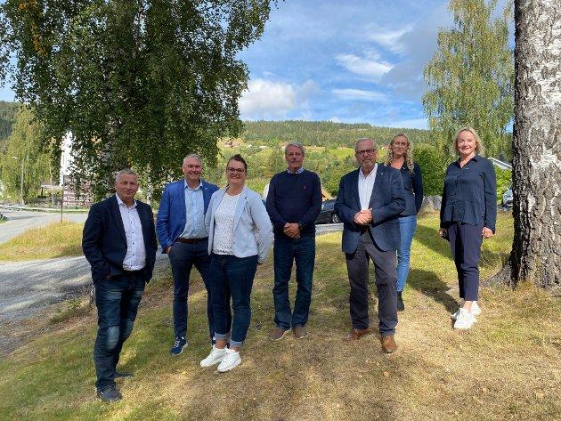 Høyre i Sigdal var veldig fornøyd med at kommunen ble hørt av Høyre og samtidig overrasket over at Senterpartiet i Viken ikke støttet de lokale folkevalgte.