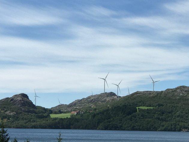FORNYBAR ENERGI: Øyvind Misje i Eigersund Venstre skriver at han synes det er irriterende når MDG påstår at det er politikerne i Oslo som skal redde Norge ved at hovedstaden skal bli utslippsfri. Den elektriske energien som kreves for det, blir ikke produsert i Oslo, påpeker han.