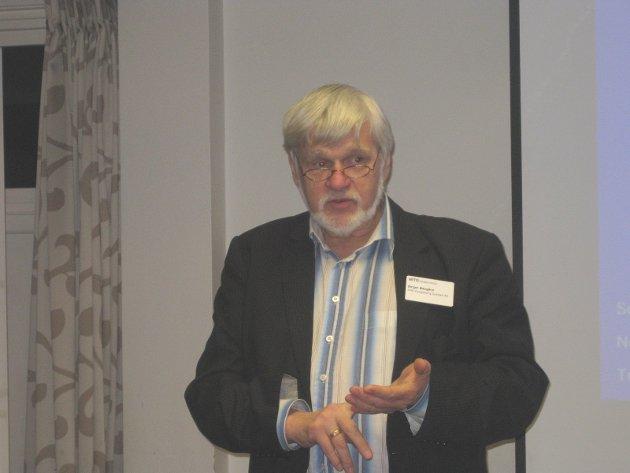VIL HA MER KOMPETANSE: Birger Ødegård, leder NITO Buskerud.