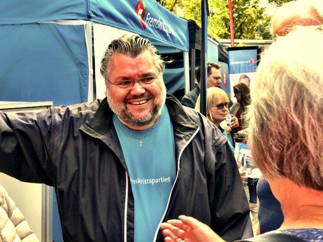 ØNSKER FORNYET TILLIT: Buskerud Frps Morten Wold ønsker seg fornyet tillit fra velgerne i Buskerud, og gjør her rede for hvorfor.