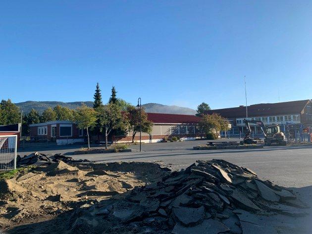Mjøndalen skole rustes opp.