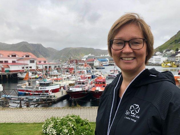 Heidi Holmgren, varaordførerkandidat Nordkapp Senterparti