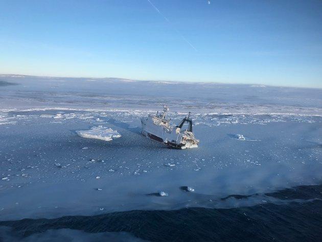 Arktisk Risk Assesment Northguider_foto fra Sysselmannen_ til brosjyre arktisk råd
