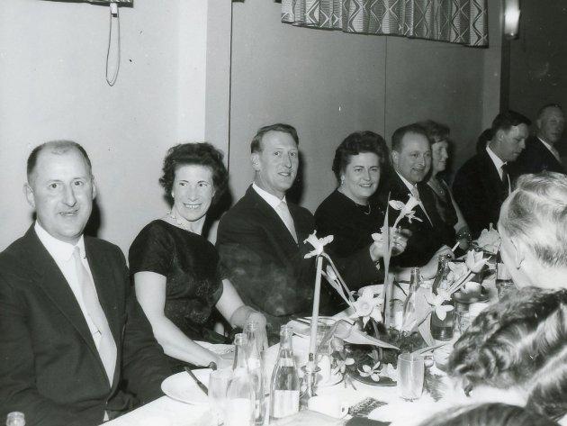 Her ser du mellom andre Arvid Stavang, Ingulf Slettevold, Alf Folkestad og Svein Knapstad.