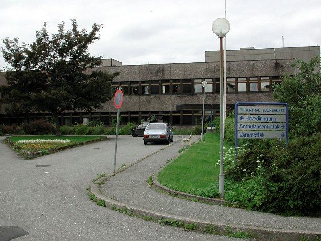 Den nyaste delen av sjukehuset i Florø er påtenkt som omsorgsbustader.