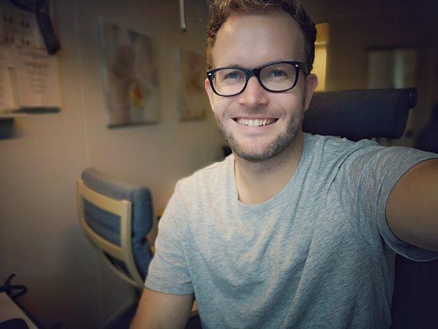 PSYKISK HELSE: 10. oktober er verdsdagen for psykisk helse. Kommunepsykolog Øystein Verås