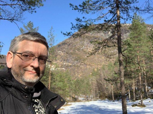 Mark Taylor (MDG)  kjempar for meir klima- og naturomsyn i handsaminga av dispensasjonar i Fjaler.