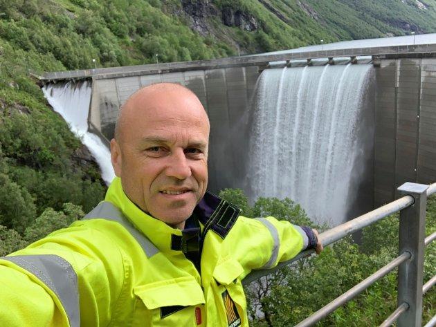 SLÅR EIT SLAG FOR VINDKRAFT: Sivilingeniør Erik Espeset meiner meiner folk bør heie på ingeniørane som er med på å utvikle norsk vindkraft.