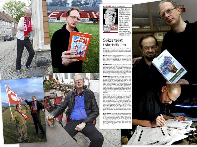Allsidig mann: Gøran Karlsen minnes Jon Syversen (51) som en kunnskapsrik, allsidig og hjertevarm person.foto: Fredriksstad Blads arkiv