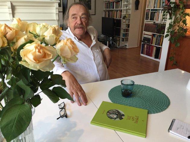 I fjor høst var Thore Hansen aktuell med billedboken «Treet som hvisket» på Gyldendal forlag. Nå kommer han med «Neshornets hemmelighet».
