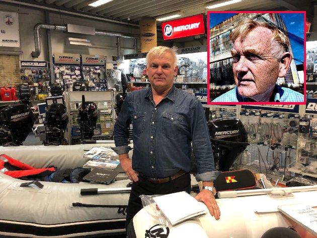 Ragnar Karlsen og Kjell Bjørndal (innfelt) har sendt brev til politikerne i Fredrikstad bystyre.