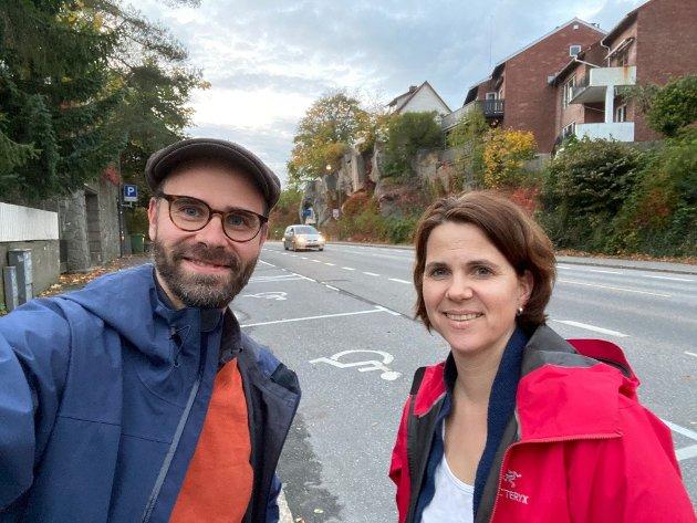 Trond Svandal og Solveig Schytz, Venstre
