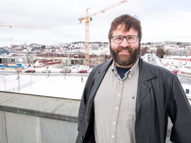 Eystein Markusson direktør på Narviksenteret