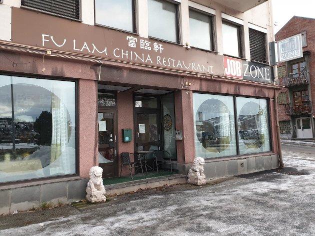 MIDT I SMØRØYET: Fu lam har unektelig en av byens beste plasseringer, der den ligger sentralt i Gate 1.