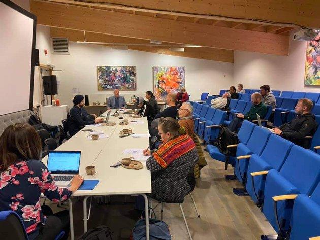 Ledere av reinbeitedistrikter i Nordland, har vært samlet på Storjord i Saltdal 13. oktober 2020.