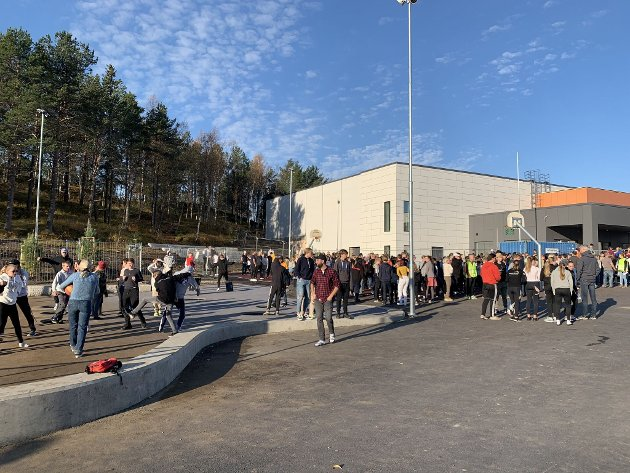 Nye Narvik ungdomsskole.