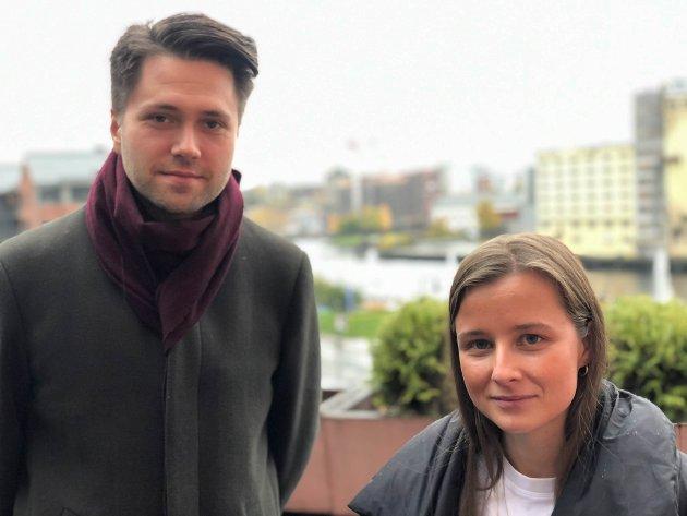 FRP OG HØYRE: Svendsrud og Aarvold fastslår at politikerne må gi elever mulighet til å velge skole og linje selv.