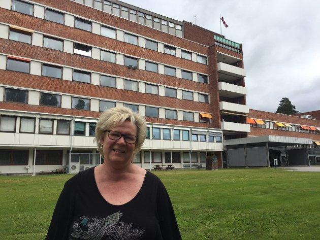 Tone M. Sønsterud (Ap) skriver om Kongsvinger sjukehus.
